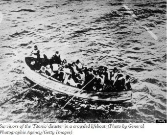 TitanicLifeRaft