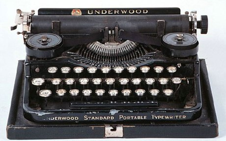 This is a typewriter.